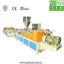 PP PE corrugado máquina de hoja de techo / reciclado de línea de producción de techo de techo máquina/PE