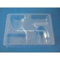 Paquete blister transparente de PVC para electrónica