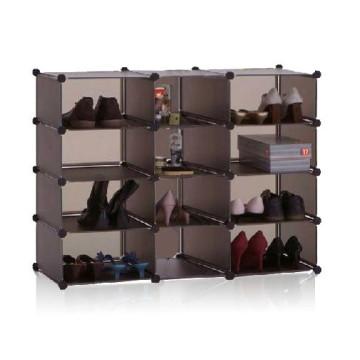 Puede sostener muchos zapatos Wall Cube Storage Home Storage (FH-AL02815)