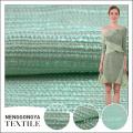 Tela modificada para requisitos particulares de la tapicería de la felpa de la gata del 100% poliéster de alta calidad