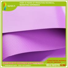 Высокая прочность Lacqured шатер PVC для напольного покрытием брезент ткань