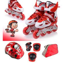 Красный спортивный комплект для скейтбординга для детей