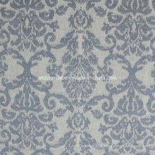 Tissu de rideau en polyester de modèle populaire européen