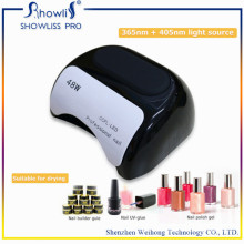 Sensor de mão UV e LED Lâmpada de unhas Cura Secador de unhas