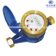 Transmissão magnética de discagem seca Classe C Medidor de água