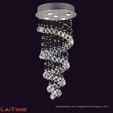 iluminación de araña de cristal, araña de cristal larga LT-91008