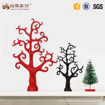 Decoración de encargo de la Navidad del fieltro del árbol de la resina