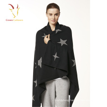 Fashion Cashmere Ponchos Sweater for Women Winter
