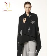 Мода кашемир пончо свитер для женщин зима