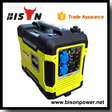 Bison China Zhejiang Selling Small Electric Dynamo 240V 2KW 3000W Portable 3KW Inverter Generator
