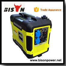 Bison China Zhejiang ar refrigerado único cilindro gasolina Power Generator Gasolina Inverter