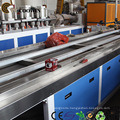 Wood Plastic Composite WPC Profile Production Line for Flooring / Pallet