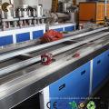 Деревянная пластичная составная производственная линия профиля WPC для напольных покрытий / паллет