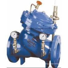 Válvula de sostenimiento de presión ajustable tipo diafragma Yx741X / H104X