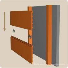 Panneau de mur d'intérieur employé couramment dans les cuisines 192 * 34mm
