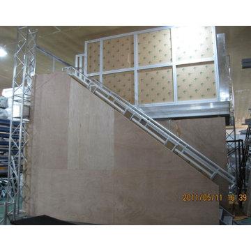 estande de exposição de deck duplo 6mX6m para feira