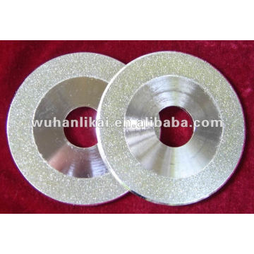 diamond polishing pad for glass