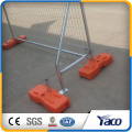 china supplier cheap fence temporary fence feet and temporary fence panel for sale