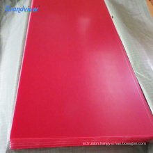 Customized ABS thermoforming plastic sheet for suitcase luggage