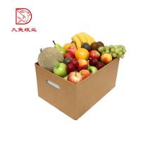 Boa qualidade venda quente mais novo personalizado caixa de papelão de frutas