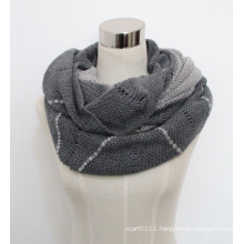 Lady Fashion Acrylic Mohair Knitted Wrap Scarf Yky4382)