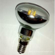 A ampola do diodo emissor de luz de R50 3.5W E14s, escurecendo o diodo emissor de luz reflete o bulbo