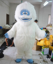 New Type Yeti Abominable Snowman Monster Mascot Costume Fancy Festival or Commercial Activities Supply Adult Sizel