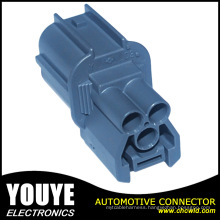 Sumitomo 6181-0072 2.3mm 090 Sealed Male 3 Pin PBT Dark Gray Automotive Waterproof Cable Wire Connector
