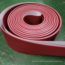 Gold Diamond Golf Pattern Treadmill Conveyor Belt PVC PU Conveyor Belt