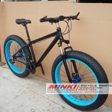 Legierung Suspension Fat Mountain Bikes 21 Speed