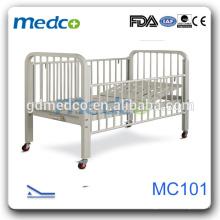 Medco MC101 Hopsital sicher CE Kind manuell verstellbare Betten Kinder
