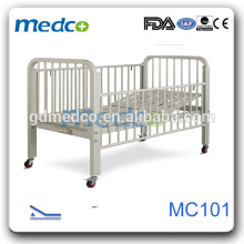 Medco MC101 Hopsital safe CE child manual adjustable beds kids