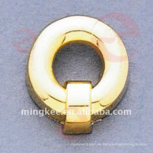 Accesorios decorativos del bolso Gold-Circle-Buckle (O34-662A)