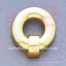 Декоративная фурнитура для сумочек с золотыми кружочками (O34-662A)