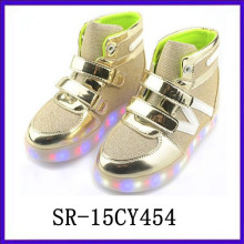 SR15CY545 Wholesale kid shoes LED shoes light shoes USB rechargable shoes