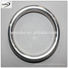 Junta oval e octogonal anel de metal