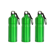 300ML & 400ML Custom Aluminum Sports bottle, Fashion Water Bottle with Carabiner