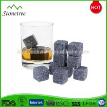 2x2x2cm Lava Stone Whisky Stone