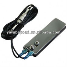 New Mini Stainless Steel Flat Tattoo Foot Pedal Swith For Power Supply