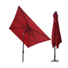 Solar Panel Outdoor Patio Umbrella