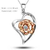 Fashional Sterling Silver Lady's Pendant Designs