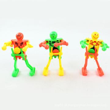 Brinquedo de plástico Wind up Toy Robot Dança (H6057027)