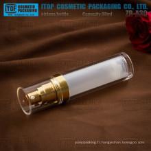 ZB-A30 ml 30 doubles-couches classiques clairement bouteilles de lotion airless acrylique