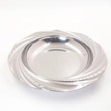 """barato espelhado 8 """"placas de sopa profundas redondas de aço inoxidável para venda"""