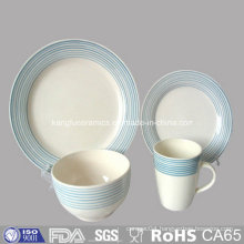 Western Stoneware Dinnerset Plate Set