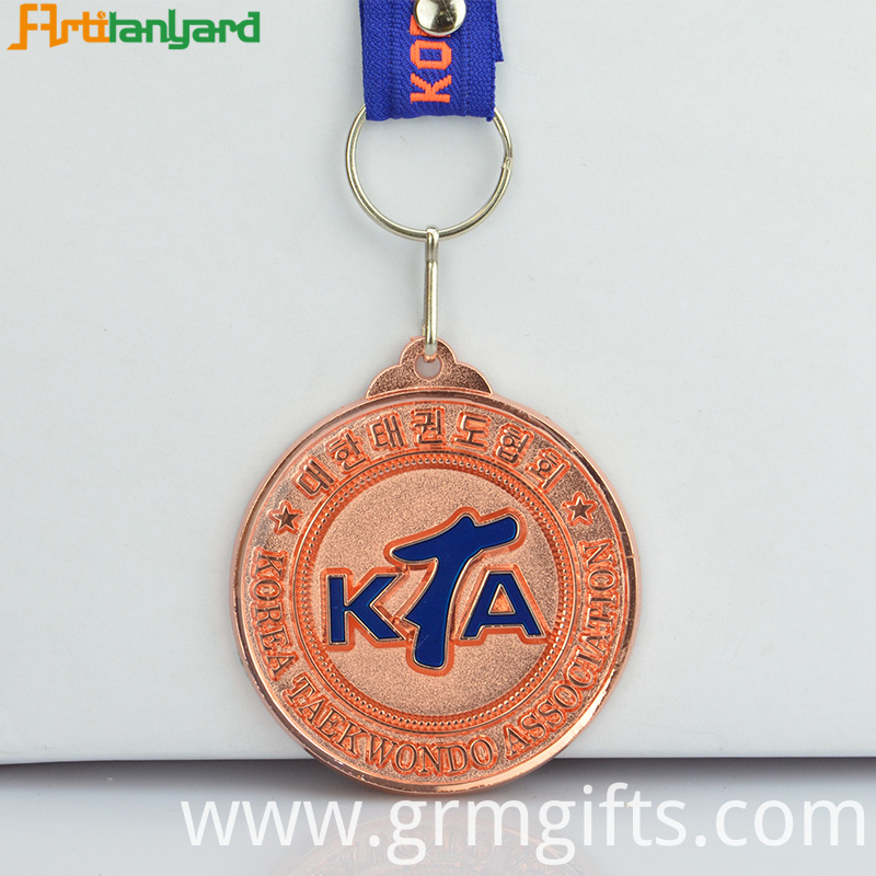 Custom Medallions With Plating