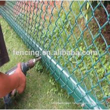 malha elo da cadeia elegante e flexível para o gramado
