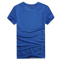 Camisa de esporte quente do algodão 100% Polyest do costume da venda