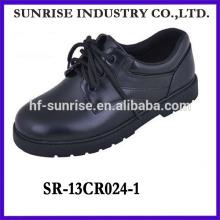 SR-13CR024-1 2014 Mode-Teenager Schuhe Mode schwarz shcool Schuhe neue modle flache Student Schuhe mit Spitze
