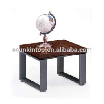 Стильный дизайн кофейного столика для офисной красной зебры и глубокой отделки железа, офисная мебель Fashional для продажи (JO-4034-06)